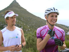 Ryan Sandes & Vanessa Haywood bare all for a good cause