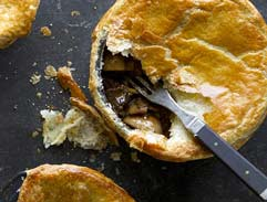 Mushroom and Steak Pie