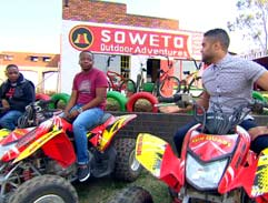 Adventure in Soweto with the Pooe brothers