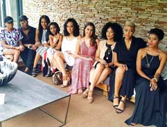 An exclusive summer fashion party with Bonang
