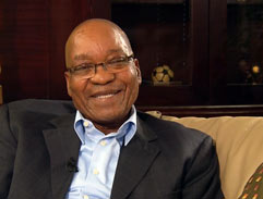 Bassie Speaks to President Jacob Zuma