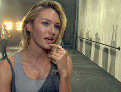 Behind the scenes of Candice�Swanepoel's latest commercial