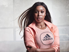 Behind the scenes of Adidas new celebrity campaign