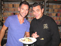 Celebrity chef Todd English