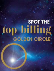 Coming soon Spot the golden circle