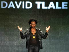David Tlale shines at New York Fashion Week