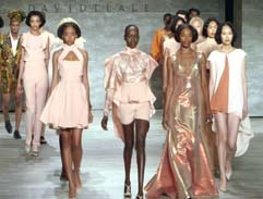 David Tlale wows at New York Fashion Week