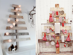 DIY: Make a shabby chic Chritmas tree