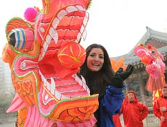 Doing the Dragon Dance
