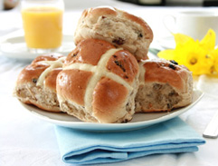 Easter Recipe - Hot Cross Buns