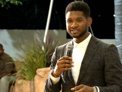 Exclusive Charity Dinner with Usher