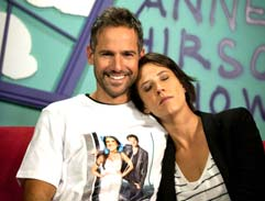 Janez joins comedian Anne Hirsch on her show