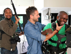 Janez Vermeiren & the Top Billing TV crew