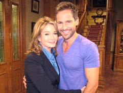 Janez meets the Days of our Lives cast