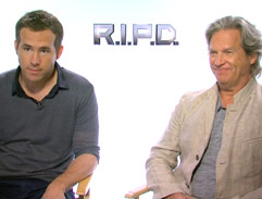 Jeannie D interviews Ryan Reynolds and Jeff Bridges
