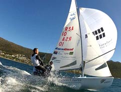 Jeannie D sets sail with our Olympic sailors