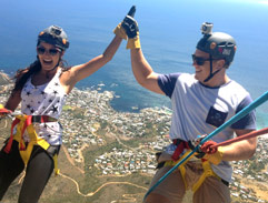 Jeannie D takes Pat Cilliers on a Cape Town Adventure