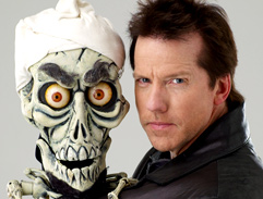 Jeff Dunham and Achmed visit Cape Town