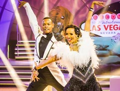 Jonathan dusts off his ballroom shoes with Leigh-Anne Williams