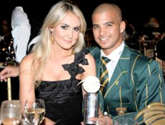 JP Duminy & the Lovely Sue Erasmus
