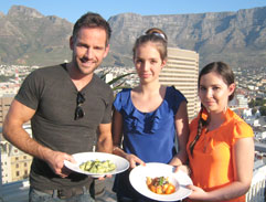 Junior MasterChef teaches Janez how to cook Italian