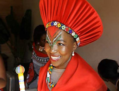 Khulubuse Zuma marries the Princess of Swaziland Fikisiwe Dlamini