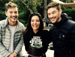 Locnville party like it is their birthday on Top Billing