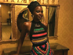Lupita Nyongo steals the show at Queen of Katwe Joburg premiere