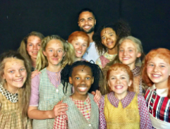 Meet the cast of the stage musical production, ANNIE