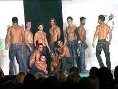 Backstage at Mr SA 2012
