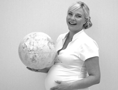 New Mom Michelle Garforth