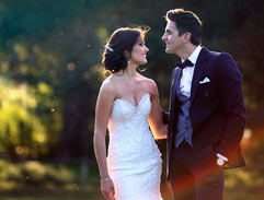 Nicole Flint and David Van Heerden tie the knot