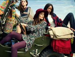 Outdoor festival fashion inspiration with Elle Magazine and Woolworths