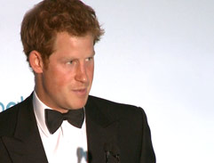 Prince Harry and his Sentebale Charity