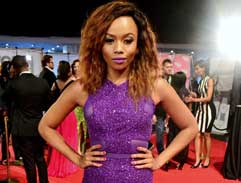 Red carpet glamour at the SAFTAs
