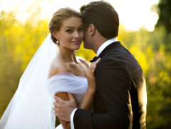 Rolene Strauss and her special wedding day