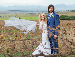 Springbok Jacques Potgieter marries actress Angelique Gerber