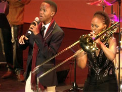 Talented young Jazz musicians inspire