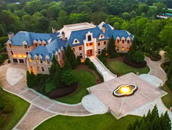 The French Provincial style manor of Tyler Perry