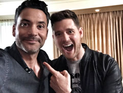 The latest with Michael Buble