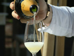 The origins of French champagne