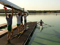 The SA Rowing Team