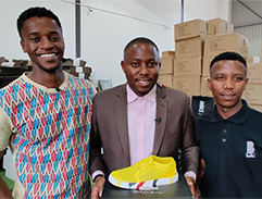 Meet Theo Baloy the man behind proudly South African shoe brand Bathu