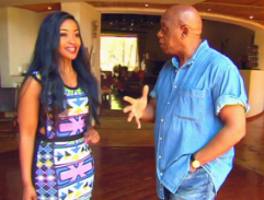 Tokyo Sexwale takes Top Billing on a tour of his riverside abode