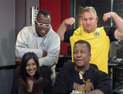 Top Billing bakes with DJ Fresh