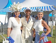 Top Billing enjoys a day at the races