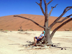 Top Billing explores Sossusvlei in Namibia