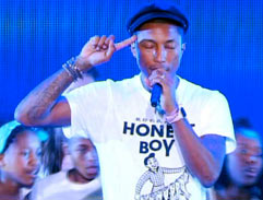 Top Billing features the Pharrell Williams private concert
