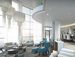 Top Billing features a nautical beach front penthouse