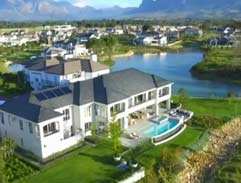 Top Billing features a Val de Vie home by designer Clinton Savage